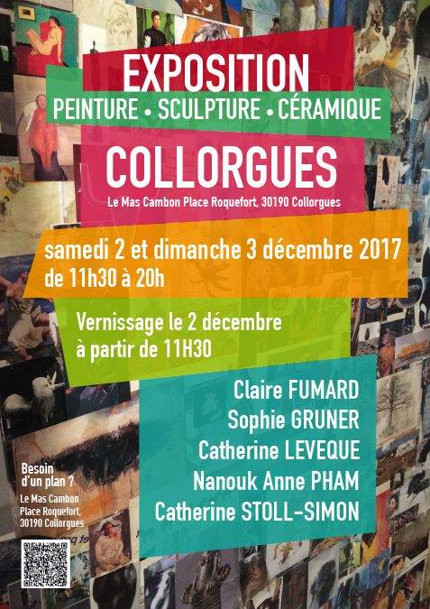 Exposition à Collorgues